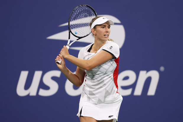 """US Open: Elise Mertens heureuse d'avoir gagné en deux sets et d'avoir """"gardé son calme"""""""