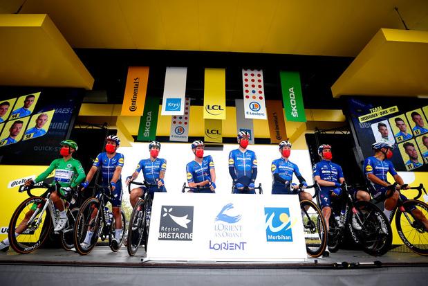 Un nouveau sponsor pour l'équipe de Remco Evenepoel et Julian Alaphilippe