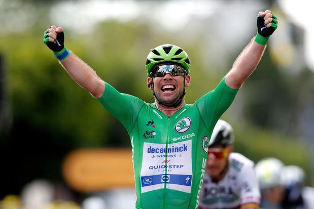 Tour de France: Cavendish à deux victoires du record de Merckx !