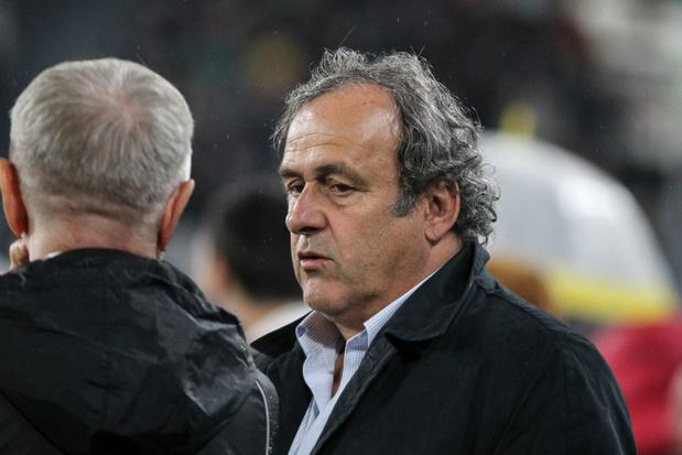 Michel Platini réclame de l'argent à l'UEFA