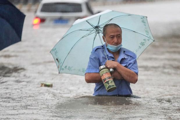 Zware overstromingen China: bijna 200.000 bewoners Zhengzhou geëvacueerd