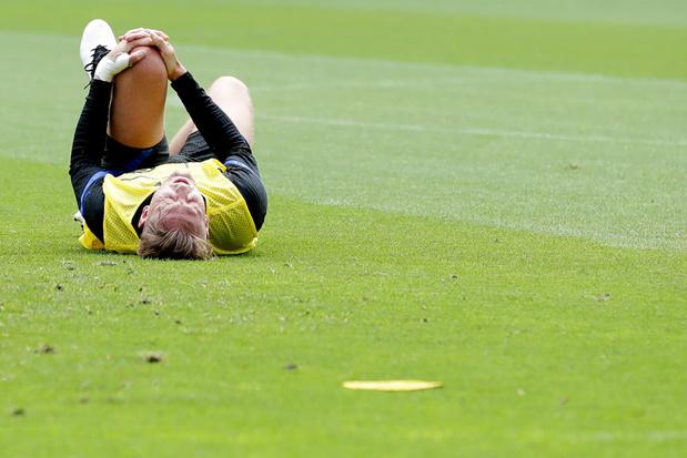 EURO 2021: Luuk de Jong forfait pour le reste du tournoi
