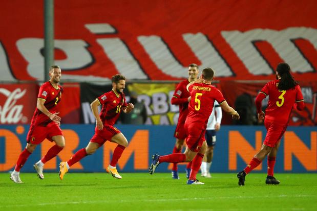 La Belgique préparera l'Euro face à la Croatie, vice-championne du monde