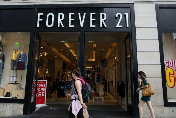 Forever 21 moet honderden winkels sluiten