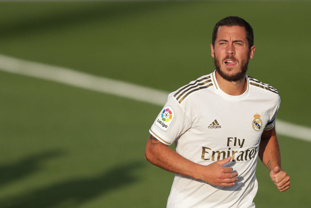 Eden Hazard pour la première fois dans la sélection du Real Madrid