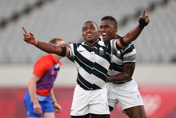 Rugby à 7: Les Fidji conservent leur titre de Rio