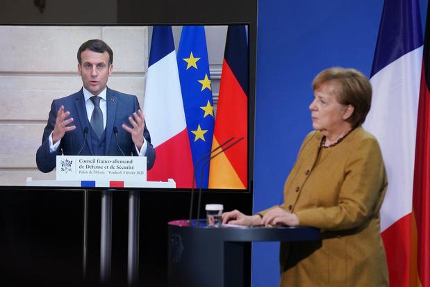 Espionnage d'alliés européens: Macron et Merkel réclament des explications