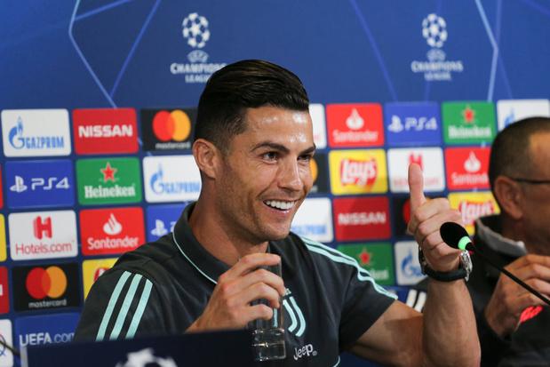 """Ronaldo heureux que la Juventus joue """"un football plus offensif"""""""
