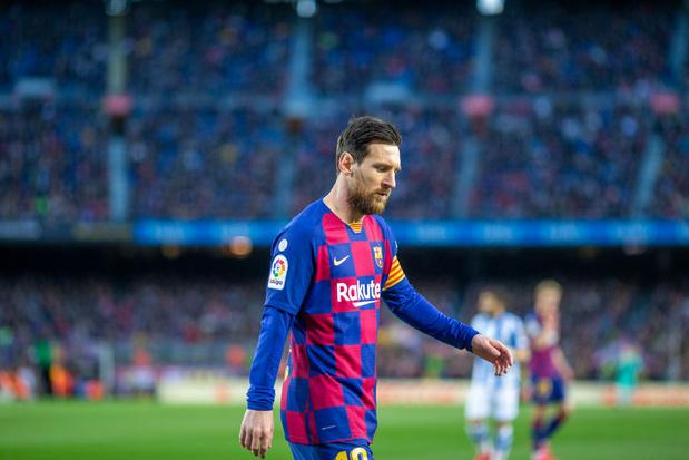 """Messi terminera sa carrière au Barça"""