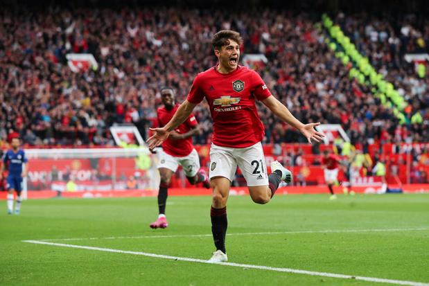 Manchester United lance sa saison en écrasant Chelsea