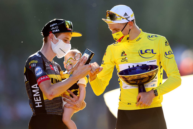 Jonas Vingegaard, le dauphin de Pogacar au Tour de France, restera dans l'équipe de Wout Van Aert jusqu'en 2024