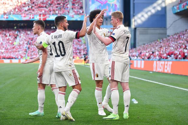 Diables rouges: avec De Bruyne, Eden Hazard, Witsel et Vermaelen contre la Finlande