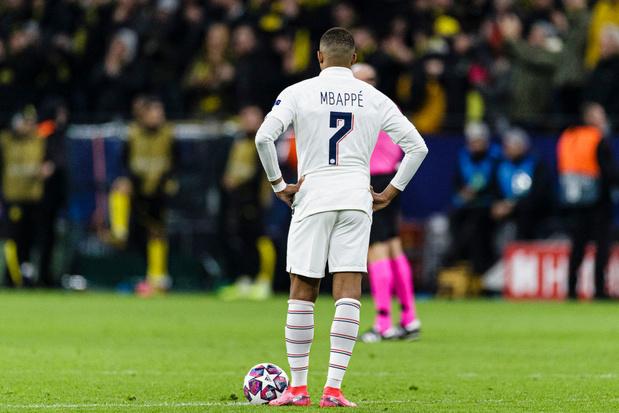 L'inquiétude grandit autour de Mbappé, à la veille de Dortmund