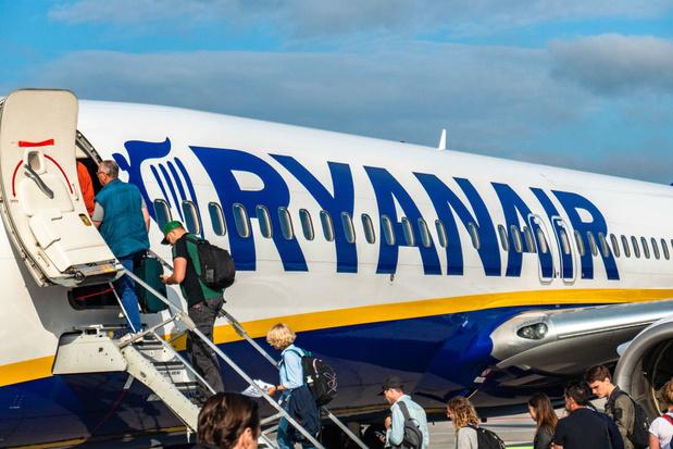 Ryanair suspend ses vols vers l'Italie jusqu'au 8 avril