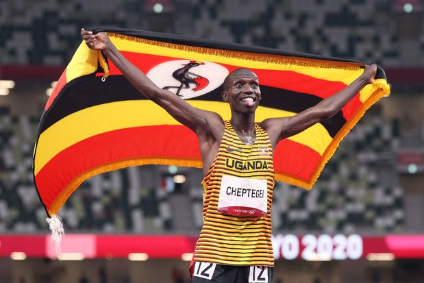 Joshua Cheptegei champion olympique du 5.000 m