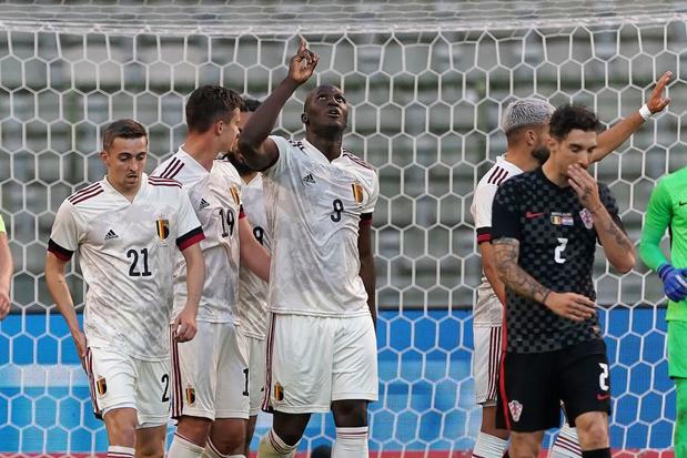 La Belgique se rassure contre le vice-champion du monde croate (1-0)