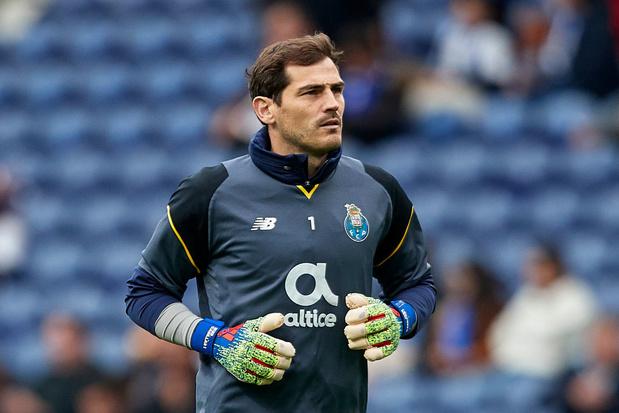 Le FC Porto dit au revoir à Casillas