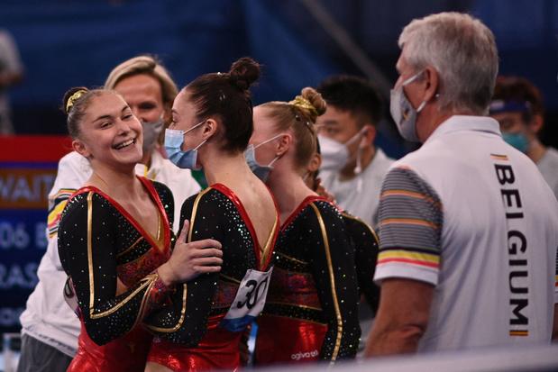 Tokyo 2021: l'équipe belge de gymnastique termine 8e du concours par équipes