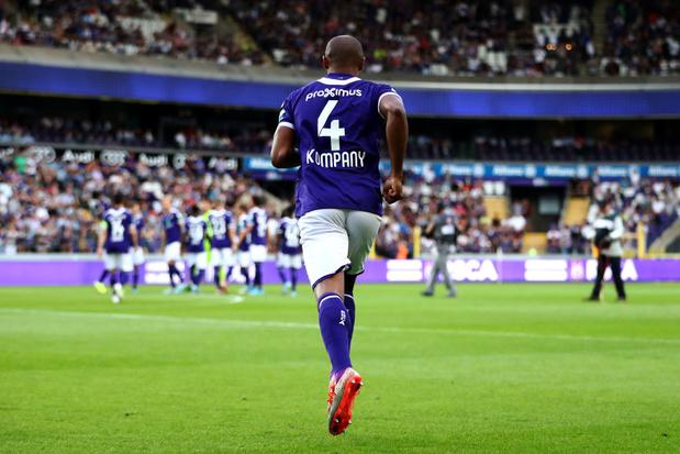 A Anderlecht, l'esprit de Kompany est là, mais pas encore les résultats