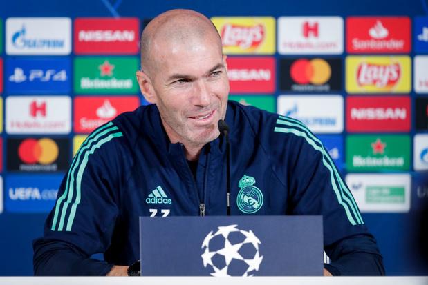 """Zidane déclare sa flamme à Mbappé: """"Je suis déjà amoureux de lui"""""""