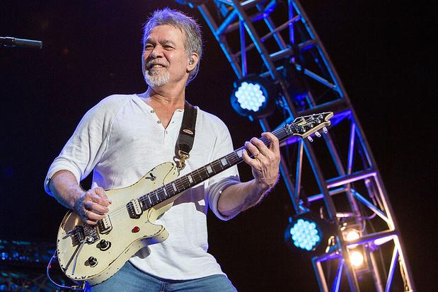 Rockster Eddie van Halen (65) overleden