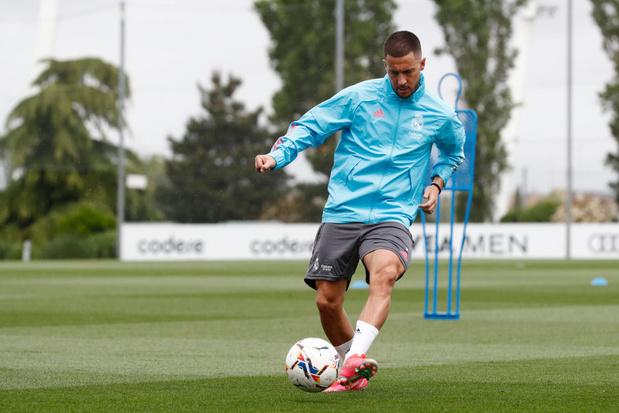 Eden Hazard de retour dans la sélection du Real Madrid