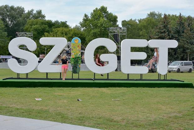 Coup d'envoi du Sziget Festival