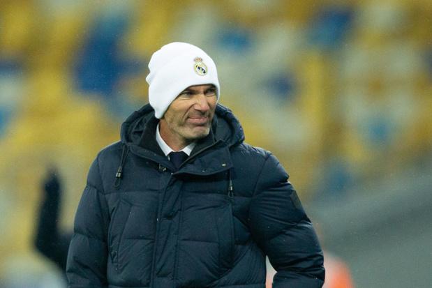 """Zidane exclut de jeter l'éponge avec le Real Madrid: """"Je ne vais pas démissionner"""""""