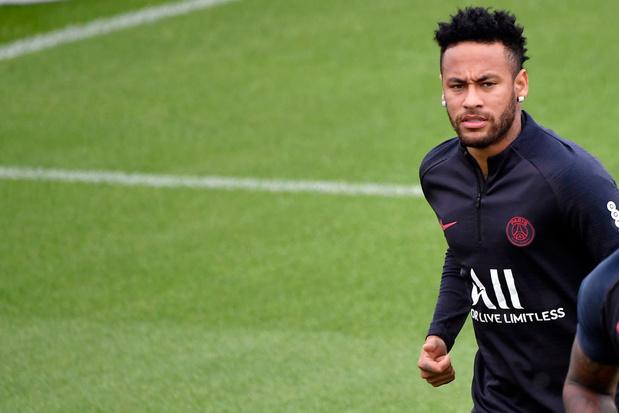 Neymar pourrait jouer à Bruges