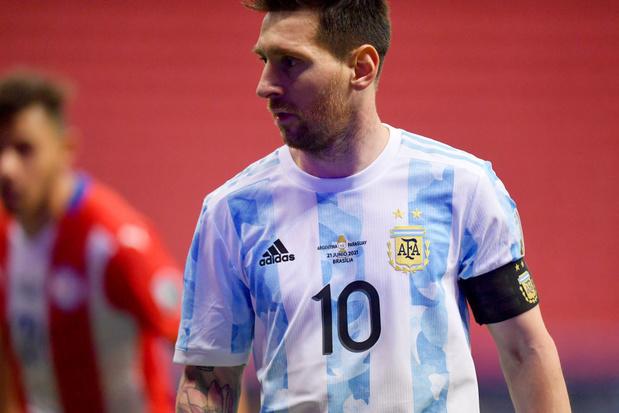 Copa América: l'Argentine se qualifie pour les quarts, Messi égale le record de sélections