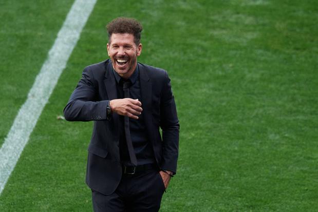El Cholo Simeone poursuit sa love story avec l'Atlético Madrid