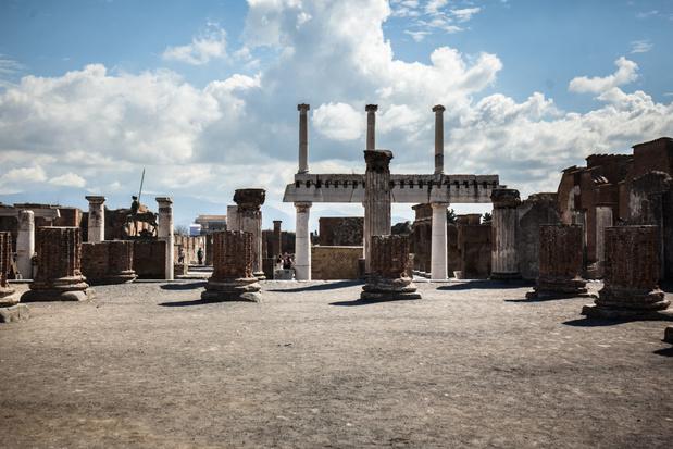 Découverte de bijoux et de porte-bonheur à Pompéi