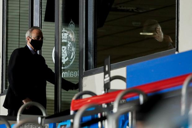 Real Madrid: Florentino Perez, seul candidat, réélu président pour un 6e mandat