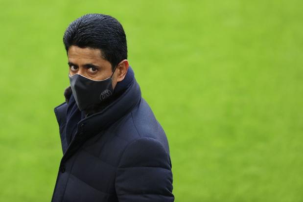 Super League: pourquoi le patron du PSG, Nasser Al-Khelaïfi, a-t-il pris ses distances?
