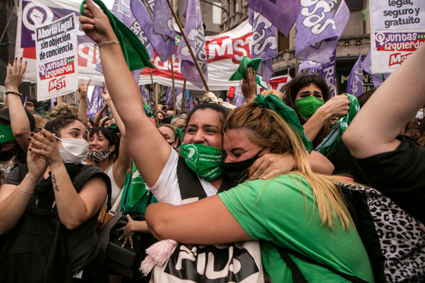 Argentinië legaliseert abortus