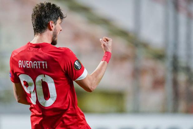 Mercato: Felipe Avenatti prêté à l'Union Saint-Gilloise par le Standard