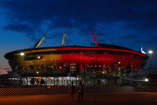 Euro 2021: les mesures anti-covid seront plus strictes à Saint-Pétersbourg pour Finlande-Belgique