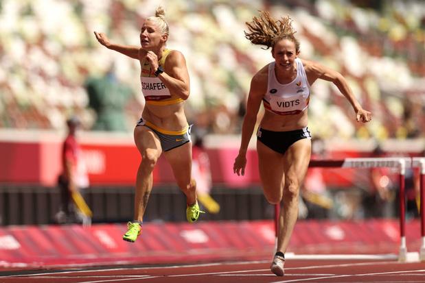 Vetter en tête de l'heptathlon devant les Belges Vidts et Thiam, Johnson-Thompson disqualifiée