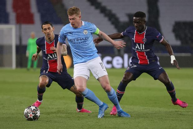 Au PSG, un Manchester City bleu acier