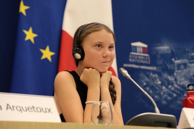 """Greta Thunberg: """"Les gens commencent à être plus conscients"""" sur le climat"""