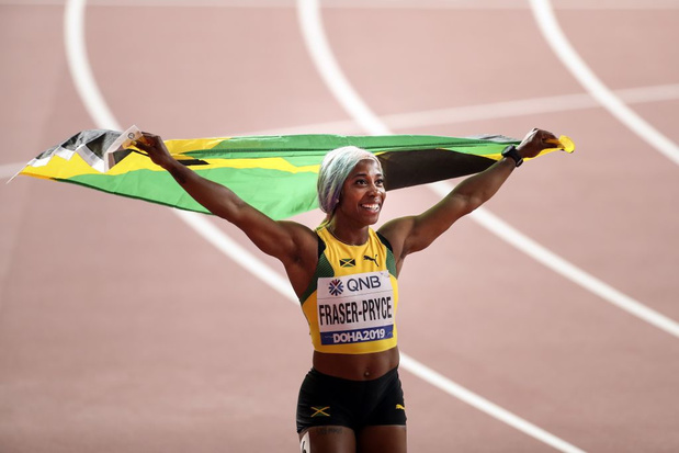 Shelly-Ann Fraser-Pryce championne du monde du 100m pour la 4e fois