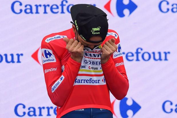 Rein Taaramäe réalise son rêve en devenant leader de la Vuelta