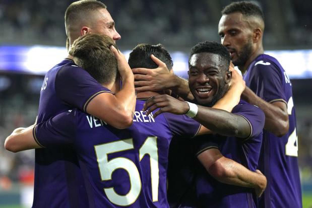L'Antwerp, Anderlecht et La Gantoise ont la phase de groupes des Coupes d'Europe en vue