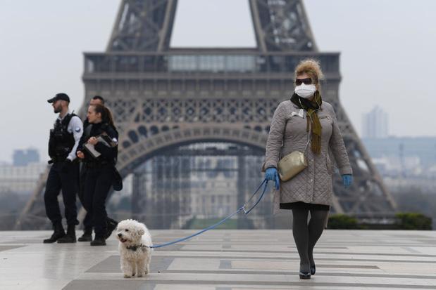France: 6.500 nouveaux cas en 24 heures
