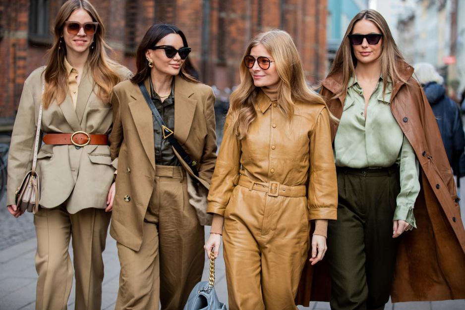 Gespot op straat tijdens Copenhagen Fashion Week: alle tinten bruin