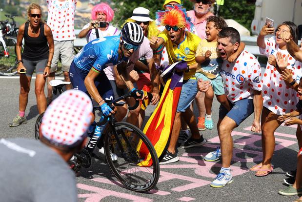 Alejandro Valverde, en larmes et contraint à l'abandon, a-t-il disputé sa dernière Vuelta ?