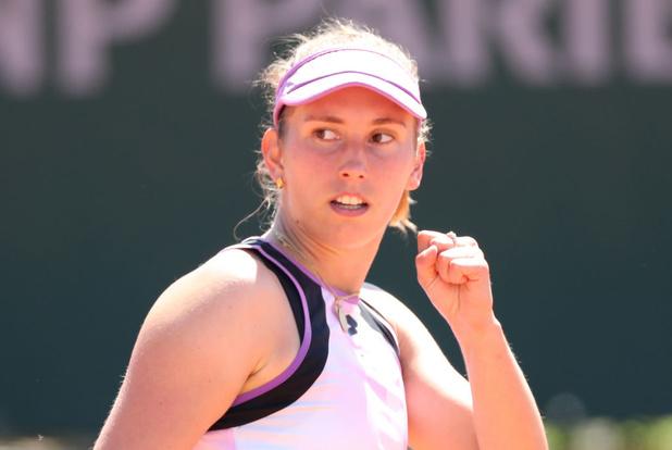 Roland-Garros: Elise Mertens déroule et se qualifie pour le 2e tour