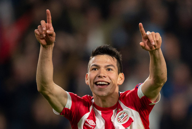 Hirving Lozano rejoint Dries Mertens à Naples