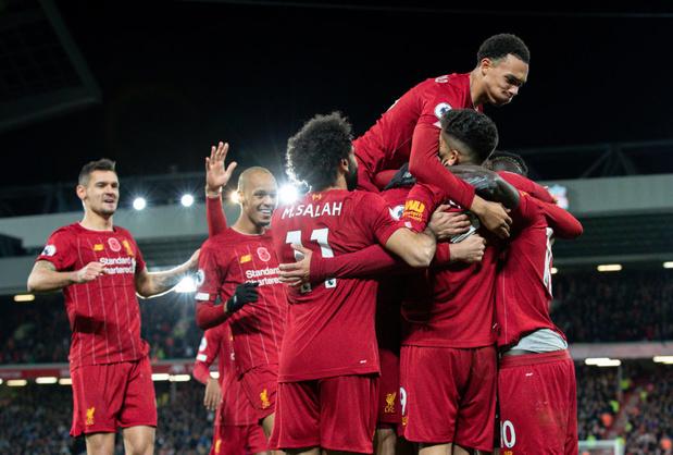 Liverpool est champion d'Angleterre