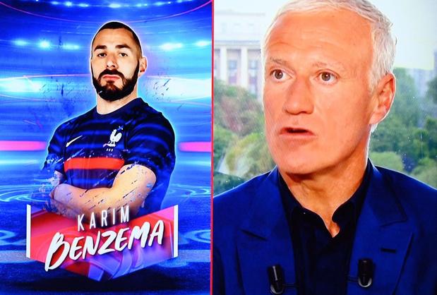 "Benzema, ""la bombe de l'Euro"", affole la presse européenne"